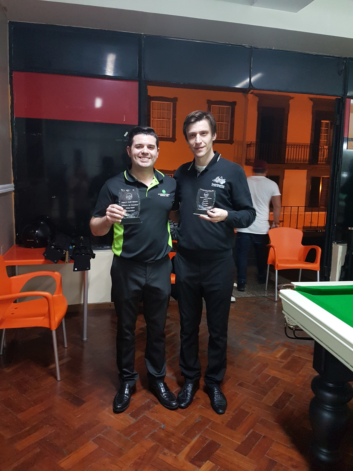 VENCEDOR DO 3º OPEN DE SNOOKER